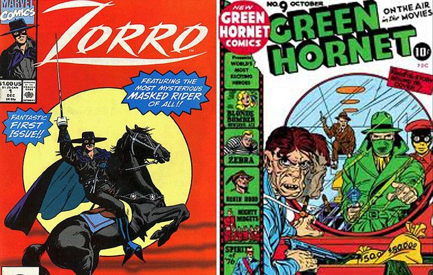 Zorro and the Green Hornet