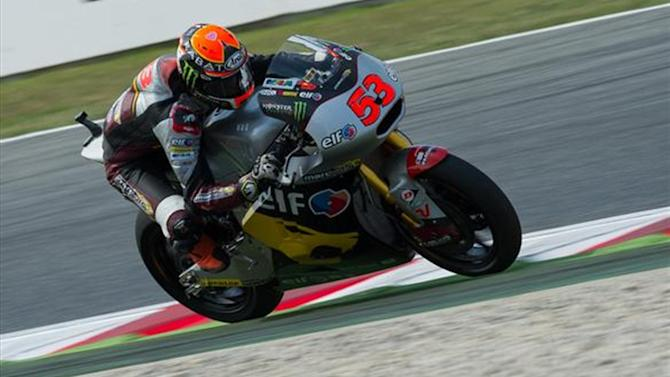 Motorcycling - Rabat takes Moto2 win as Lowes crashes