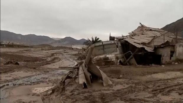 RAW: Massive flooding in Chile