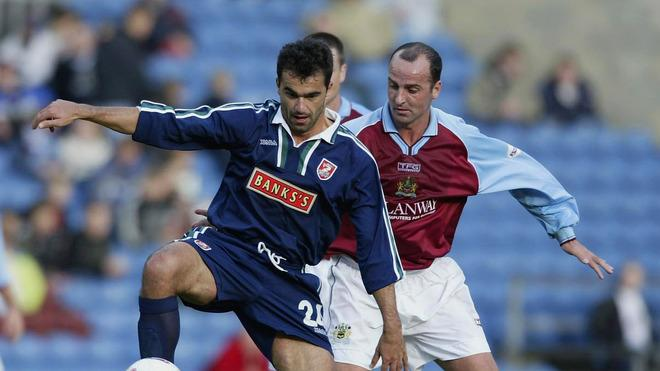 )  Roberto Martinez Of Walsall Holds Getty Images