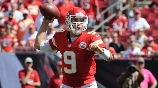 NFL  - Kansas City's Quinn again out with concussion