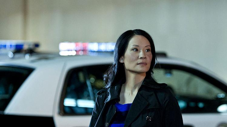 "Lucy Liu stars as Officer Jessica Tang in ""Southland."""