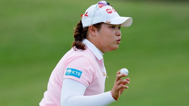 Golf - Thai teenager leads LPGA Lotte Championship