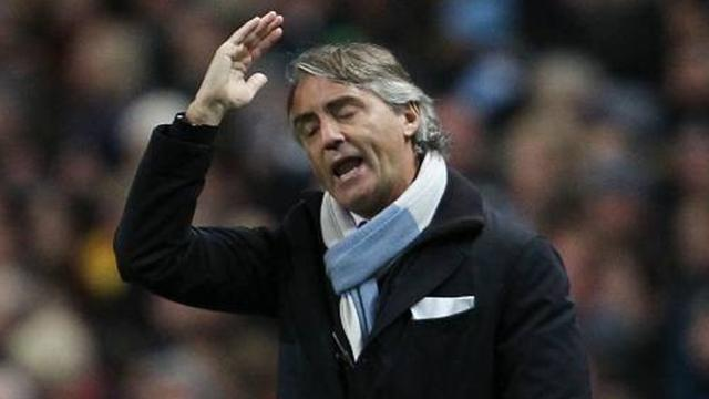 Premier League - Mancini furious with 'incredible' decision