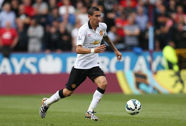 Angel Di Maria joined Manchester United for £59.7 million from Real Madrid in 2014