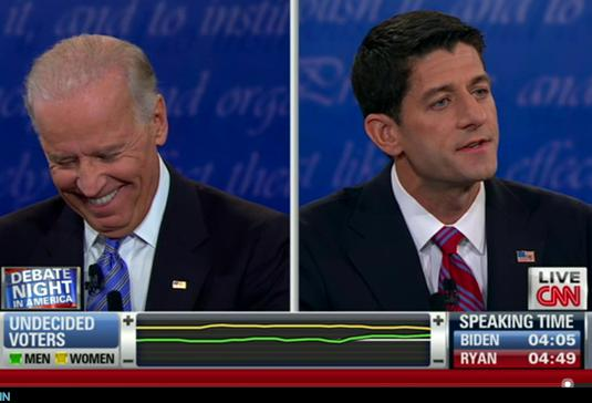 VP Debate: Joe Biden's Best Facial Expressions (Photos)