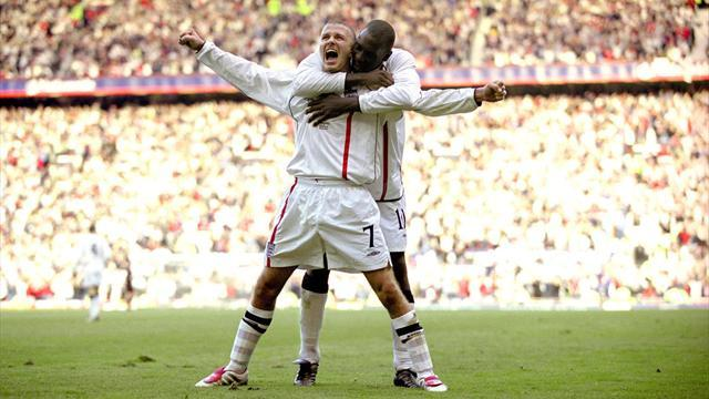 Football - The 10 most glorious David Beckham moments