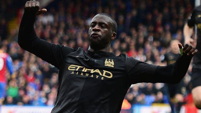 Premier League - Toure fit to feature in City's title run-in