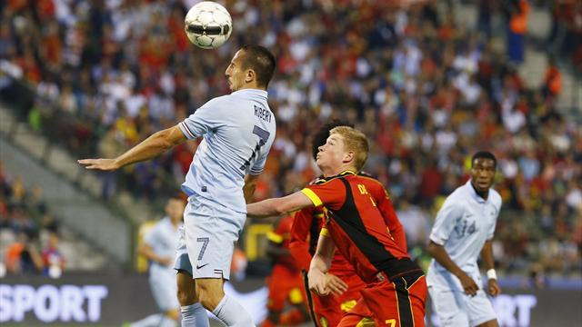 International friendlies - Belgium and France play out entertaining draw