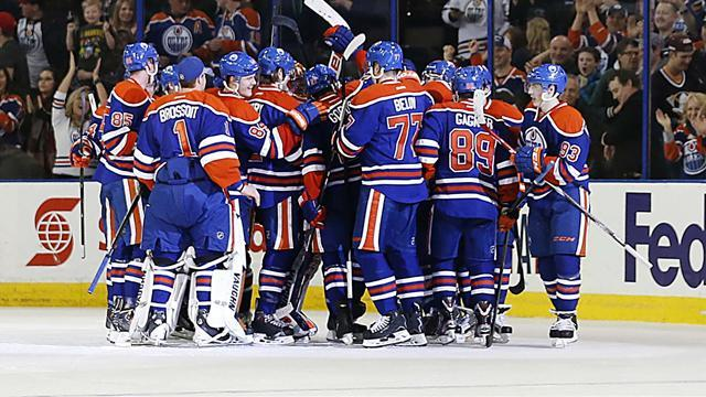 NHL - Oilers beat Ducks in overtime thriller, Flames edge Rangers