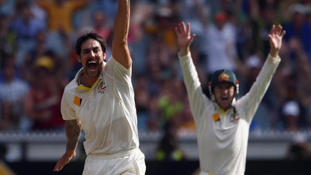 Ashes - Johnson erased all question marks in Ashes sweep - Clarke