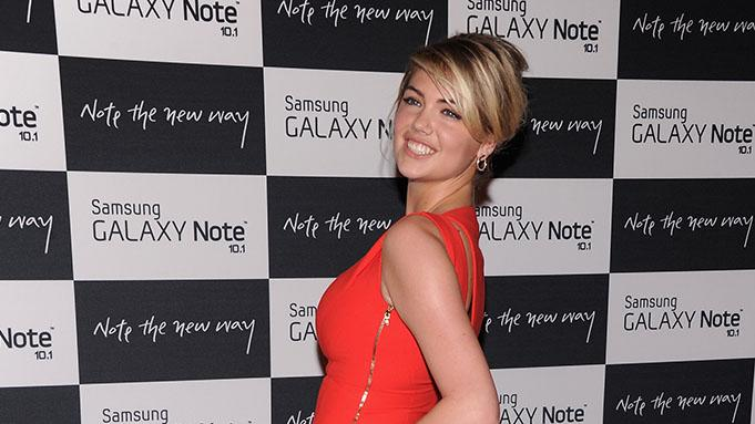 Samsung Galaxy Note 10.1 Launch Event: Kate Upton