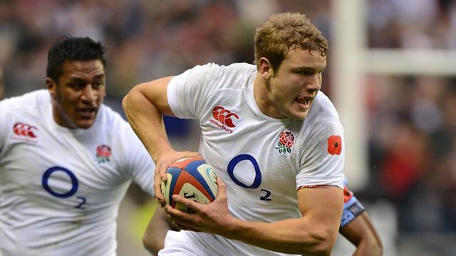 Rugby - Joe Launchbury wins England fans' award