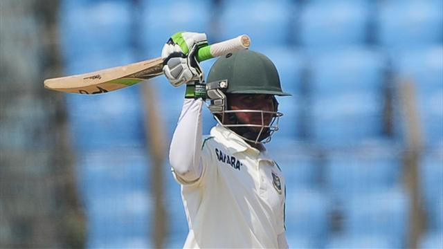 Cricket - Mominul ton earns Bangladesh draw, Sri Lanka win series