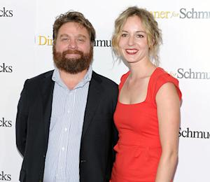 Zach Galifianakis' Wife Is Pregnant, Close to Giving Birth