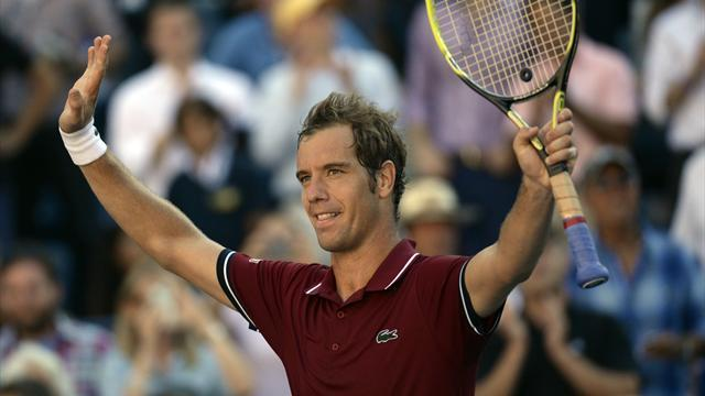 US Open - Gasquet upsets Ferrer to reach first Grand Slam semi-final since 2007