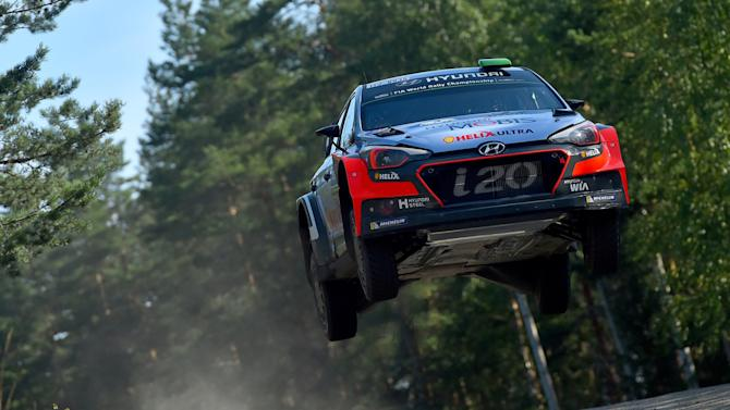 Shakedown of the WRC Finland