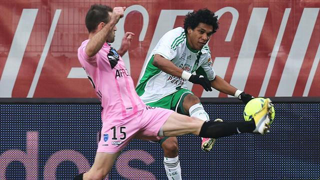 Ligue 1 - Fourth-placed St Etienne held at lowly Troyes