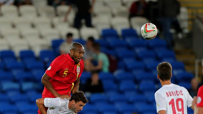 Soccer - FIFA World Cup Qualifying - Group A - Wales v Serbia - Cardiff City Stadium