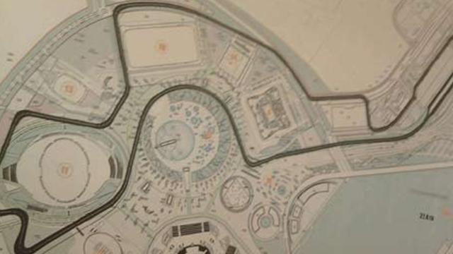 Formula 1 - Sochi circuit nearing completion