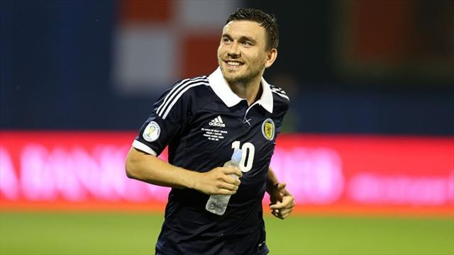 Football - Brown: Zagreb win huge for Scotland