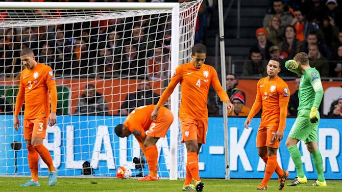 Netherlands 2-3 Czech Republic: Dutch miss out on Euros