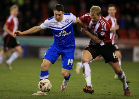 Soccer - Sky Bet League One - Sheffield United v Peterborough United - Bramall Lane