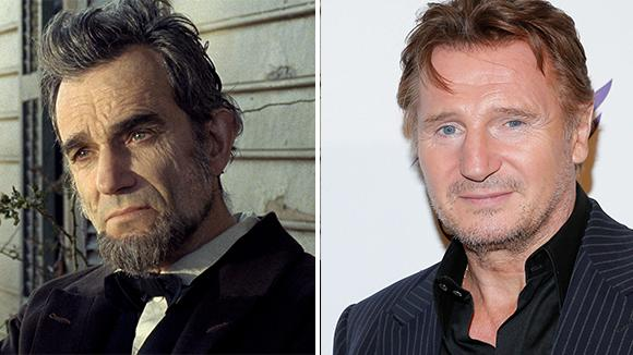 Daniel Day-Lewis and Liam Neeson