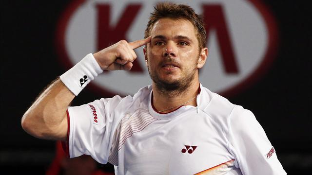 Australian Open men - Wawrinka beats Berdych to reach first Grand Slam final
