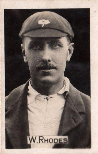 Wilfred Rhodes, England, Cricket