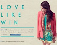 Love the Warehouse SS12 collection? Like it on Facebook and it could all be yours!