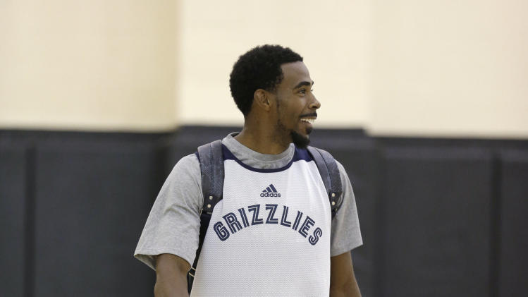 Grizzlies Camp Basketball
