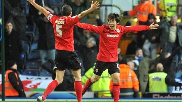 Premier League - Bo-kyung on target for Cardiff