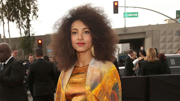 The 55th Annual GRAMMY Awards - Red Carpet: Esperanza Spalding