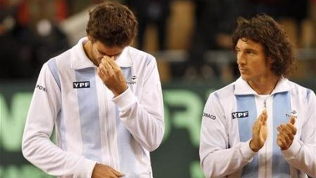 Davis Cup - Argentina face hard task against Germany without Del Potro