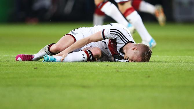 World Cup - Germany's Reus out of Brazil 2014 with ankle injury