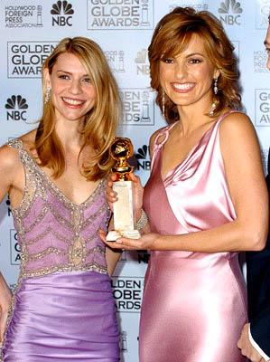 Claire Danes and Mariska Hargitay Golden Globe Awards - 1/16/2005