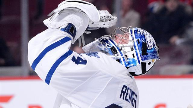 Ice Hockey - Leafs netminder Reimer strains ligament, out at least a week