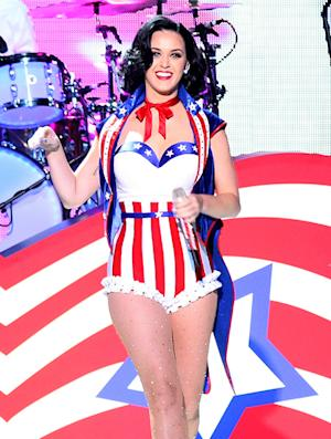 Katy Perry Wows in Patriotic Leotard at Kids' Inaugural Concert