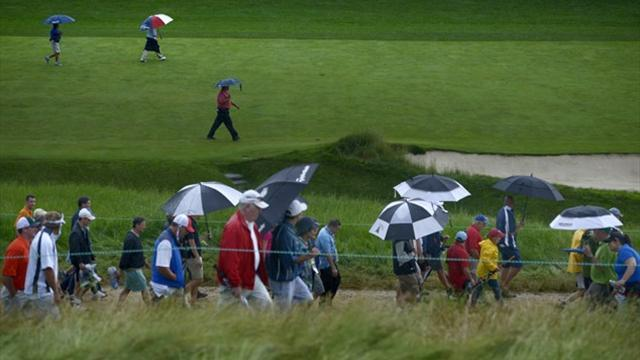 US Open - Merion shows its teeth despite soft conditions