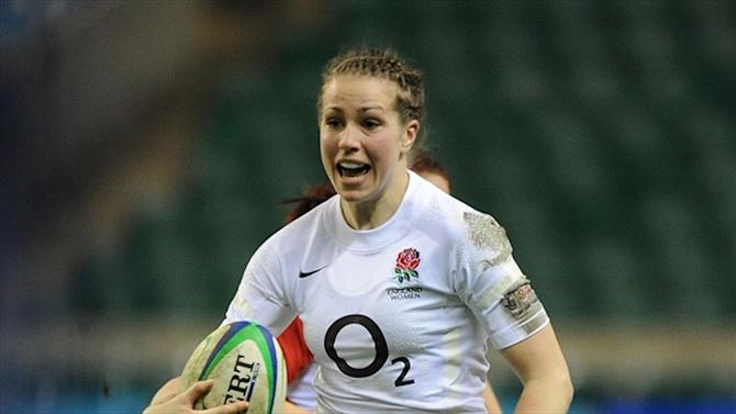 Rugby - England women living the dream after World Cup win