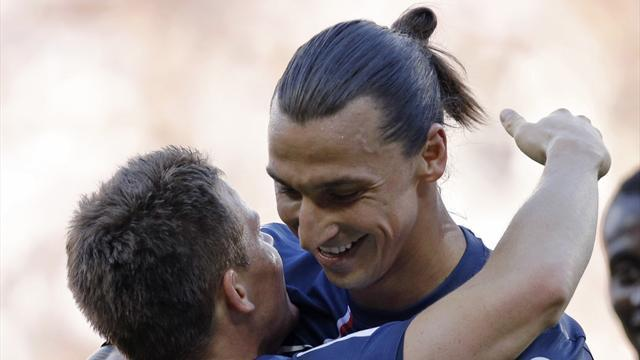 Ibrahimovic: PSG better than Milan