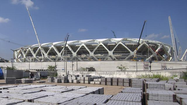 World Cup - Worker killed outside Manaus stadium