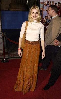 Melissa George at the Hollywood premiere of The Royal Tenenbaums