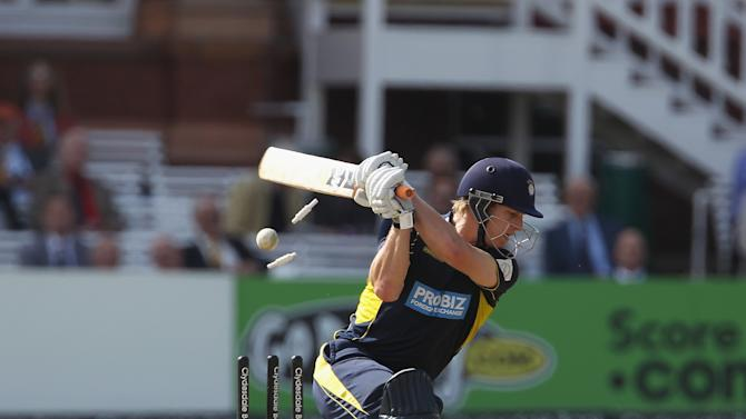 James Adams' fine knock of 66 was pivotal in Hampshire's victory