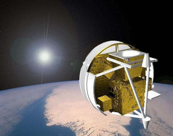 Global Warming Cause Felt by Satellites and Space Junk