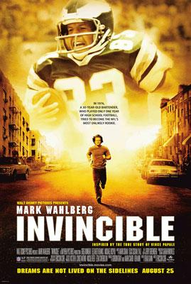 Mark Wahlberg stars in Walt Disney Pictures' Invincible