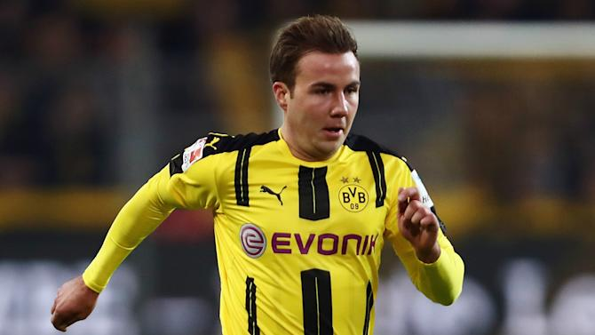 Dortmund announce Gotze out for undefined period due to 'metabolic disorders'