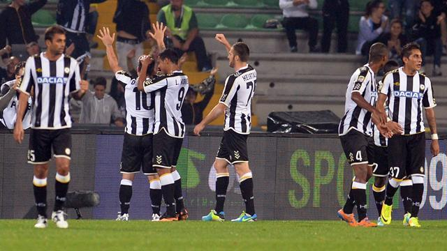 Serie A - Own goal puts Udinese in eighth
