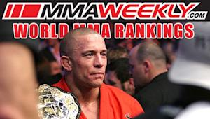 MMA Top 10 Rankings: Victory Keeps Georges St-Pierre Atop the Welterweight Divsion